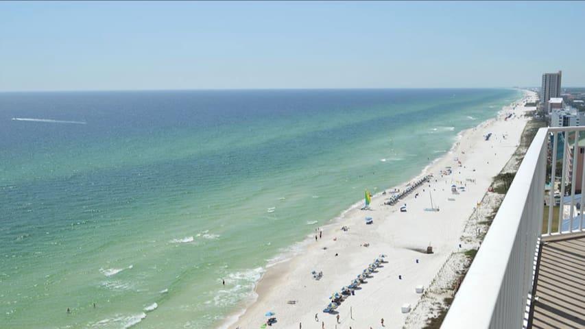 Panama City Beach Aerial View