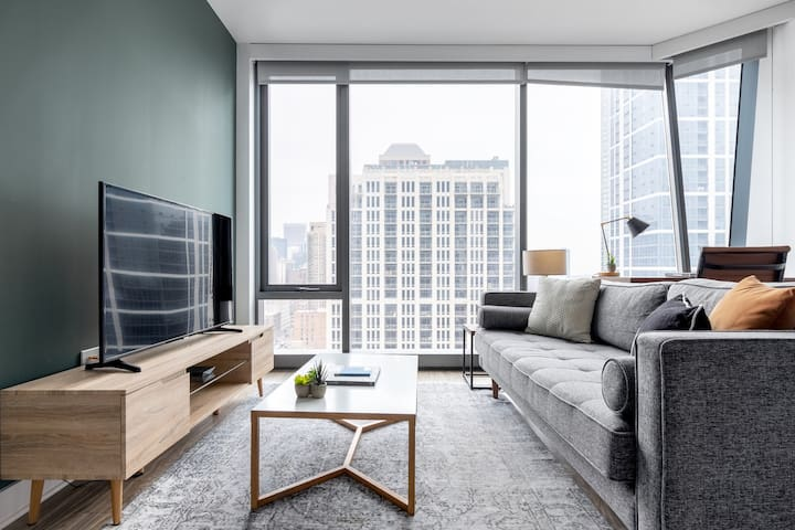 Stunning South Loop 1BR w/ Pool + Gym near Michigan Avenue by Blueground