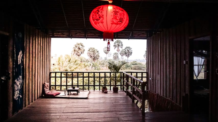 RedForest Retreat- Zen room with Countryside View