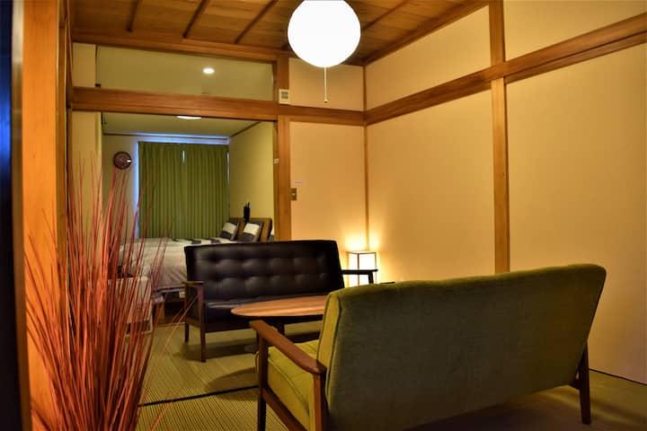 1-minute  Jinya, 3-minute Old street,/Hidamari