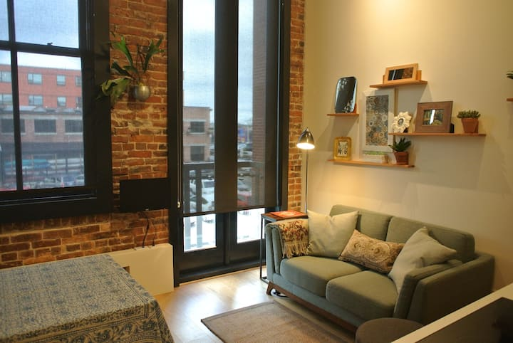 Downtown Waterfront Microloft