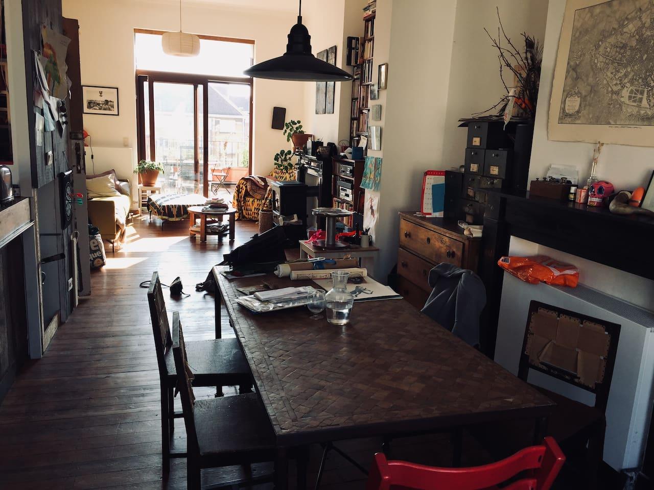 Appartement triplex à Saint-Gilles