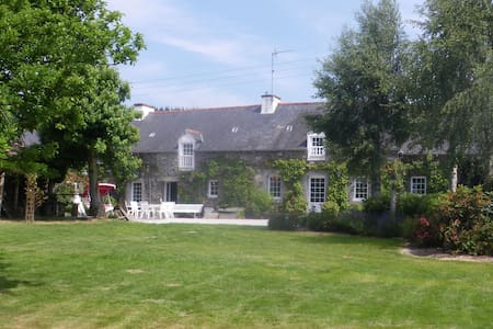 Longère bretonne rénovée - Saint-Gilles-Vieux-Marché - House