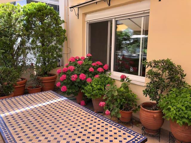 Entire Apartment  @ Kolonaki, Amazing Terrace