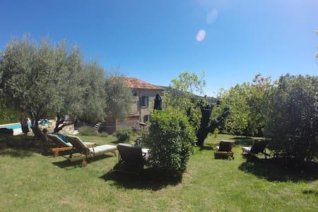 Maison Hirondelles, 17 Century stone manor house - Seillans - Villa
