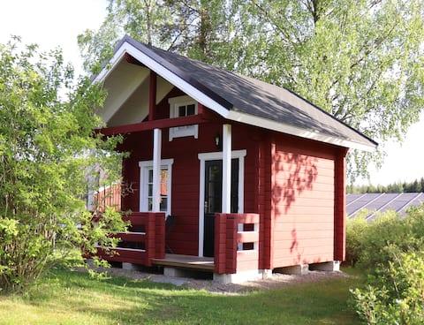 An idyllic little cabin on our animal farm