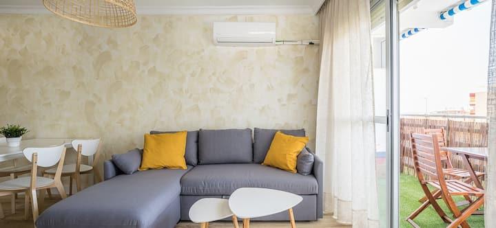 Coqueto apartamento recién reformado en La Antilla