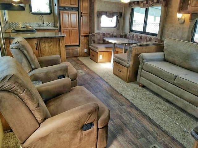 Luxury Riverfront Condo (on Wheels!)