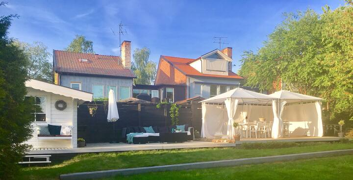 House with many bedrooms in charming Sigtuna