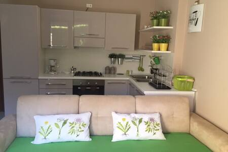 COMFORTABLE ACCOMMODATION WITH PRIVATE GARDEN - Peschiera del Garda - Huoneisto