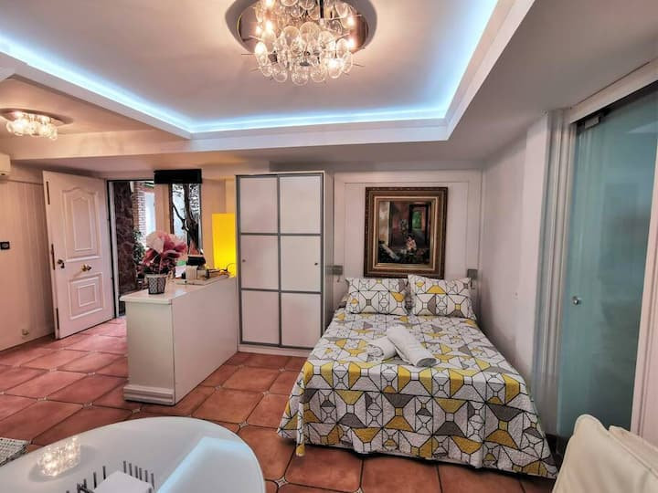 Apartamento Loft - Piscina y Chimenea - 2 pax (Exteriores compartidos)