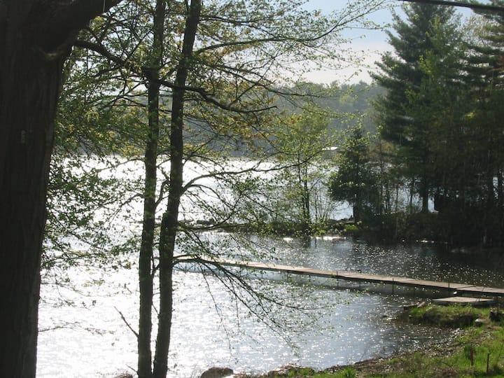 Sparrow Lake - Sun, boating, fishing, snowmobiling