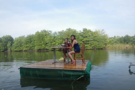 Otres Marina Bungalows+bicycle+kayaks+breakfast - Krong Preah Sihanouk - Cabana
