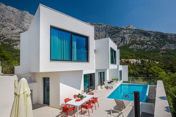 Three Bedroom Villa, in Makarska, Outdoor pool