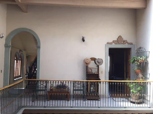 Habitación privada en Casa Porfiriana