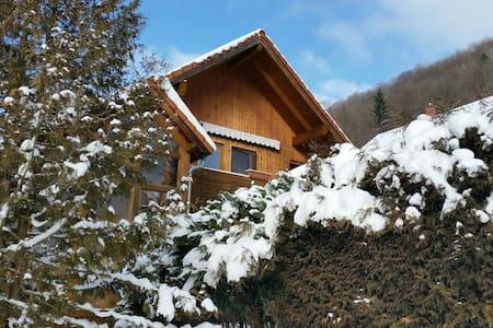2,5 Zi-Ferienwohnung 68 qm, Garten, am Thermalbad - Bad Ditzenbach - Apartment