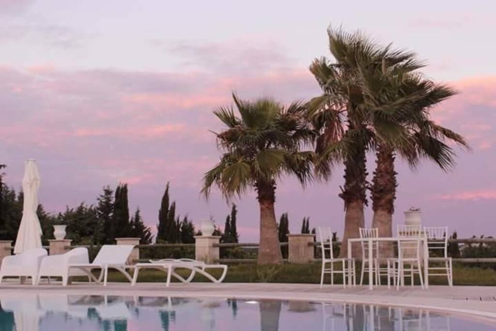 Zona piscina e relax