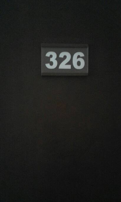 the room number