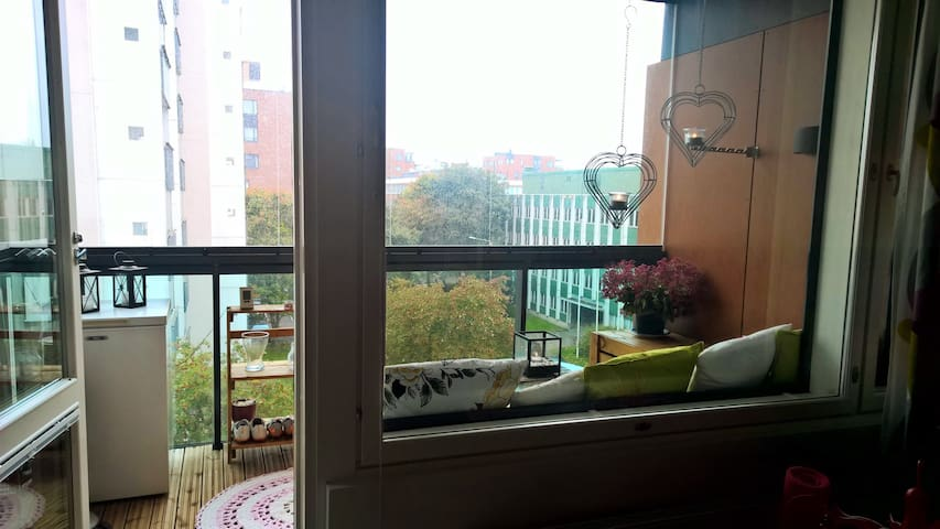 New and bright apartment in beautiful Lauttasaari - Helsinki - Leilighet