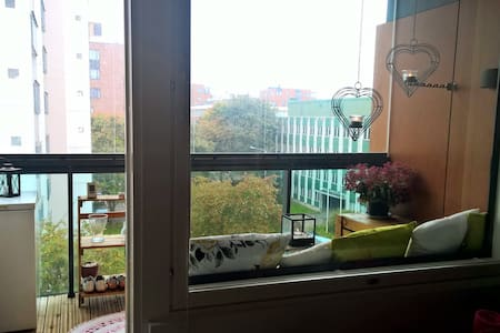 New and bright apartment in beautiful Lauttasaari - Helsinki - Daire