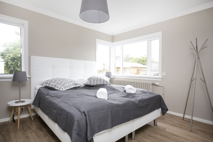 Plenty of natural light in these beautiful newly renovated apartments:).