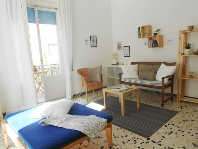 Holiday apartment at the sea between Rome/Naples - Scauri - Appartement