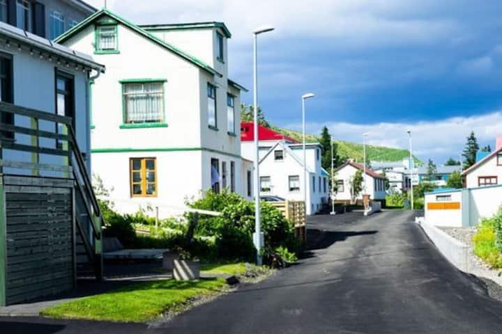 Charming apartment, great location in Siglufjörður