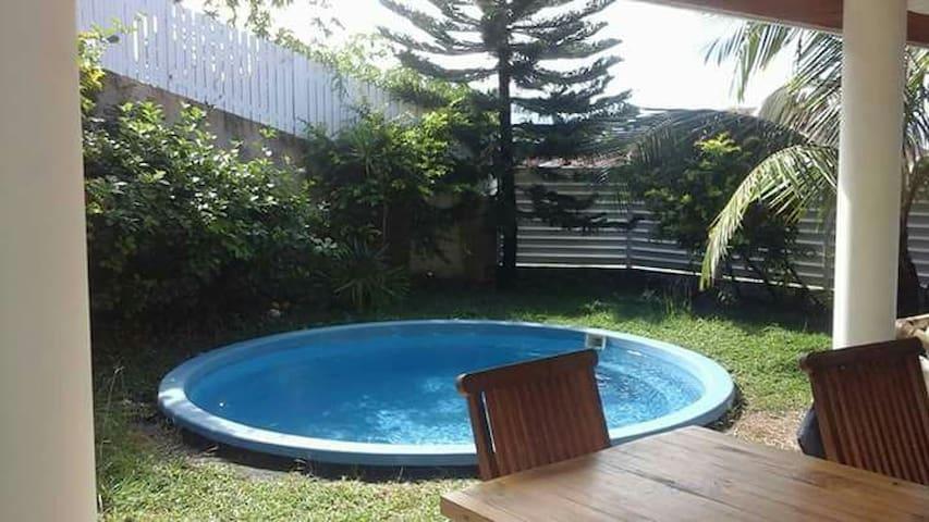 Suite parentale dans collocation - Tuband - Nouméa
