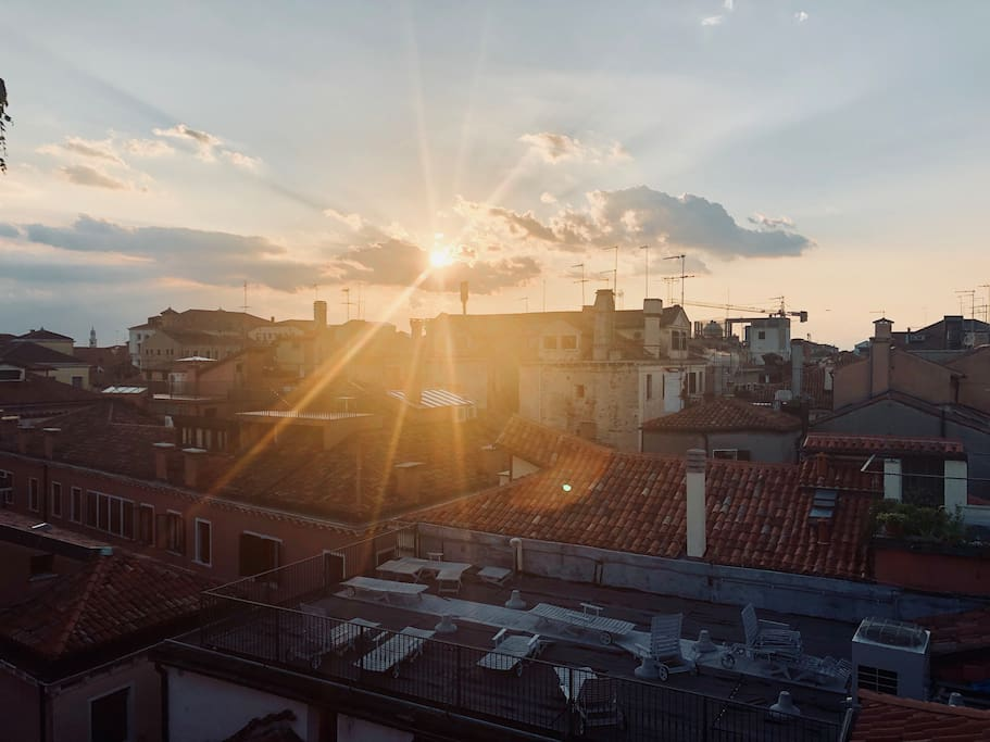 roofs of Venice - tetti di Venezia
