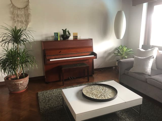 Beautiful home with  huge garden 8 mins from mrt