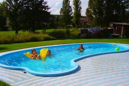 Ubytování v luxusním rodinném domě - Dolní Radechová