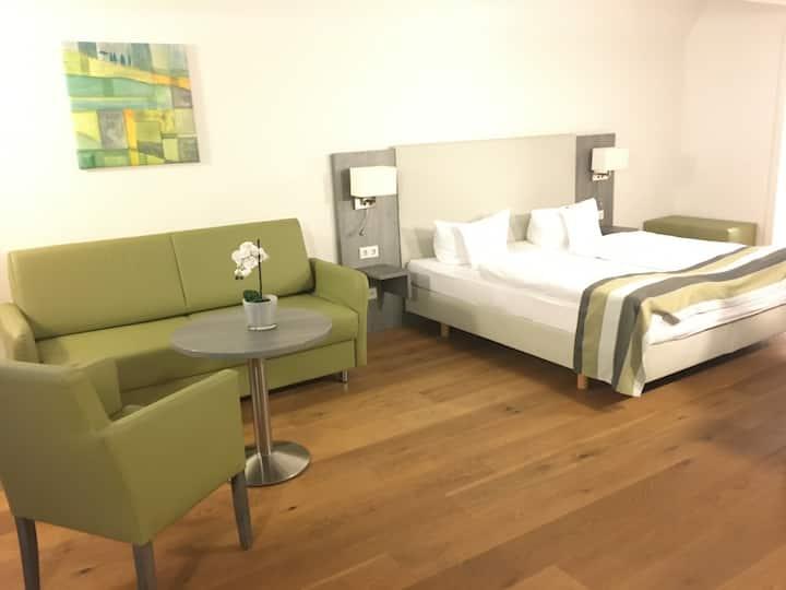 Hotel am Schloss - 4-Bettzimmer mit Kitchenette