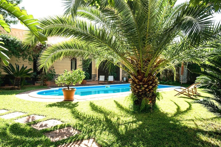 Suitelowcost Villa Bagheria with pool 6 pax - Bagheria - Villa