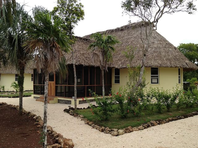 Belize Casita 6A Water Front - Copper Bank - Dağ Evi