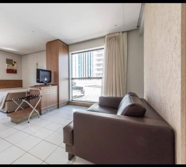 Loft/Estúdio/ Quarto confortável- Sun Square