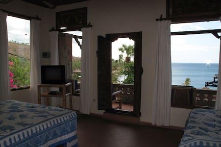 Sea view room #2 at Bayu Cottages, Amed - Bali - Abang
