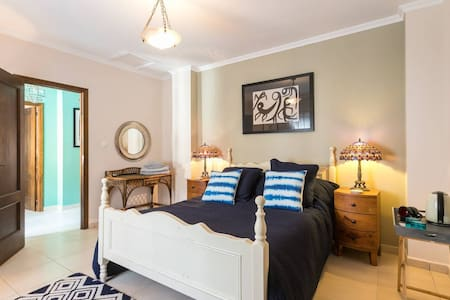 Blue Room, Double Room, Breakfast Included