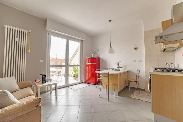 Attico Leonardo-splendido terrazzo-Comfort&Relax-