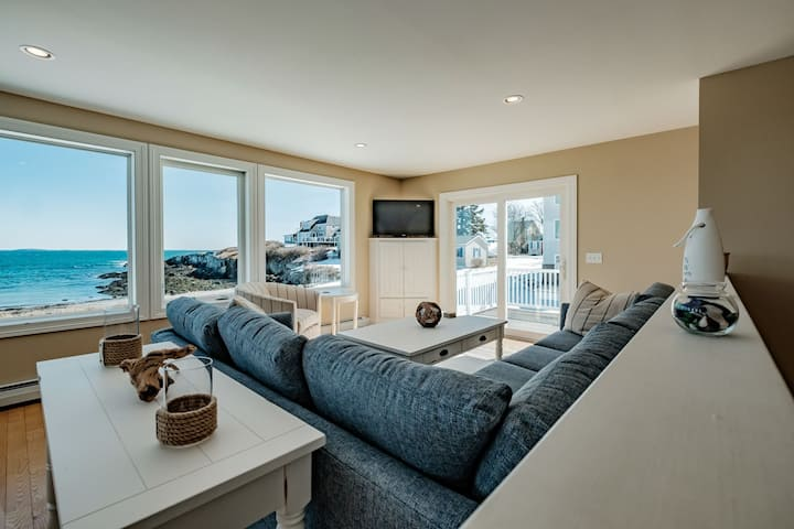 Furnished 3 Bedroom 2 Bath Peabbles Cove Home Offers Expansive Views of Casco Bay and Portland Head Light