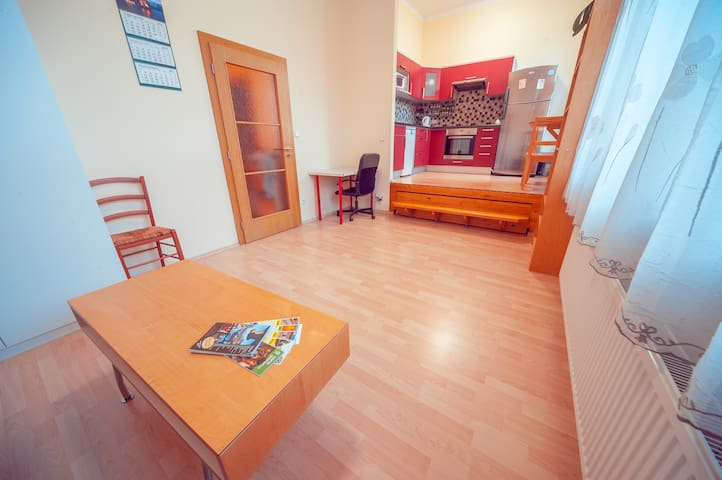 New renovated studio in Prague. Free Parking!
