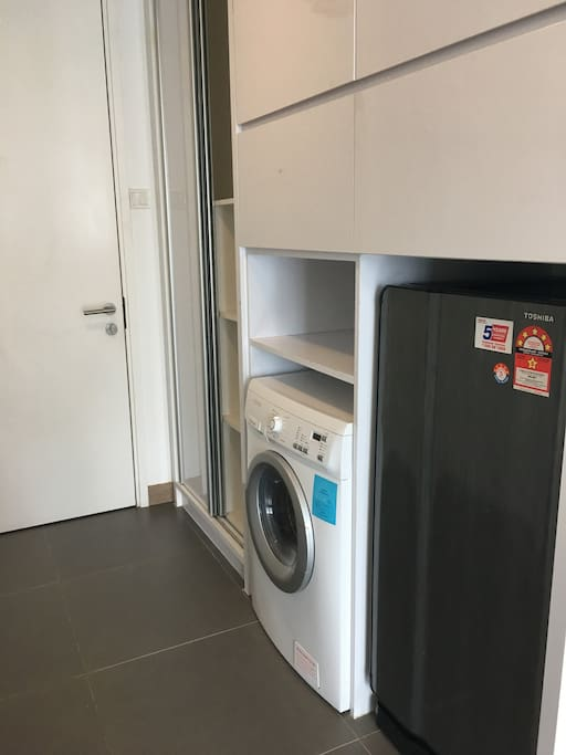 Washing maching & Dryer & Fridge