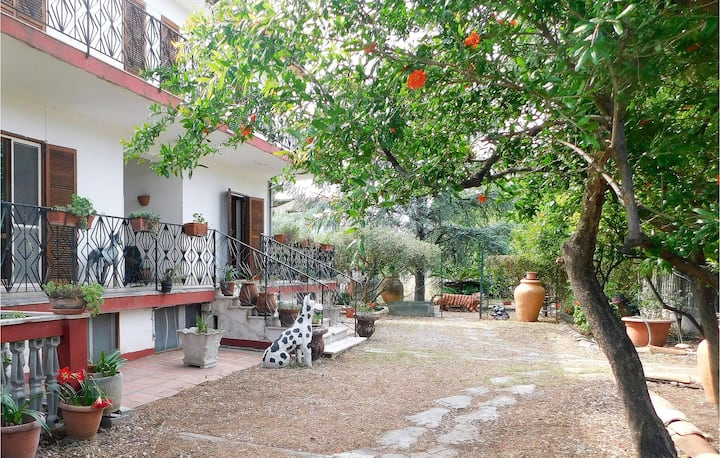 Beautiful apartment in Isca sullo Ionio with WiFi and 3 Bedrooms
