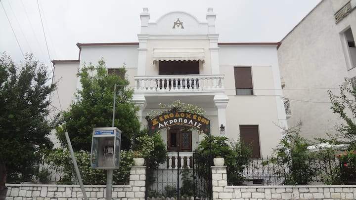 Neoclassical mansion with modern amenities