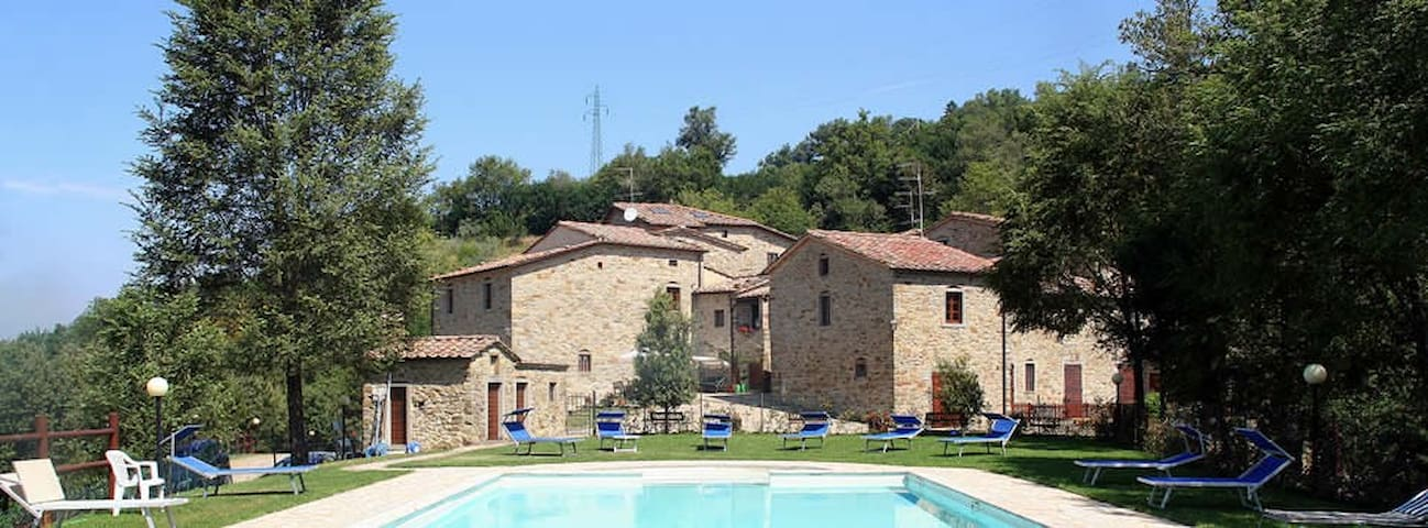 A charming stay in a  Medieval Village in Tuscany - Subbiano - Byt