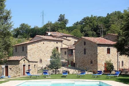 A charming stay in a  Medieval Village in Tuscany - Subbiano - อพาร์ทเมนท์