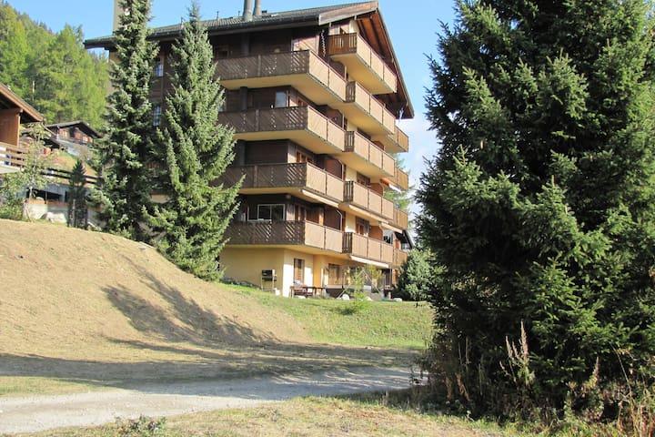 Bel appartement à Bellwald avec balcon