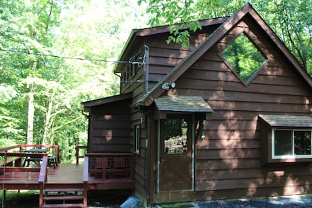 Woodland Retreat in the Poconos - East Stroudsburg - Cabane