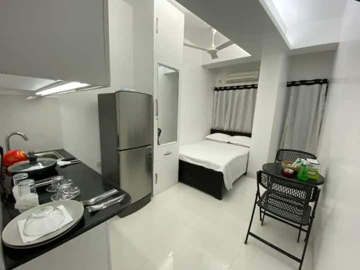 The cozy place with enlightening modern facilities