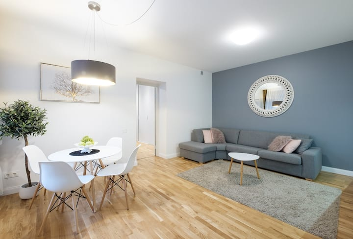 Stylish apartment in old town of Vilnius