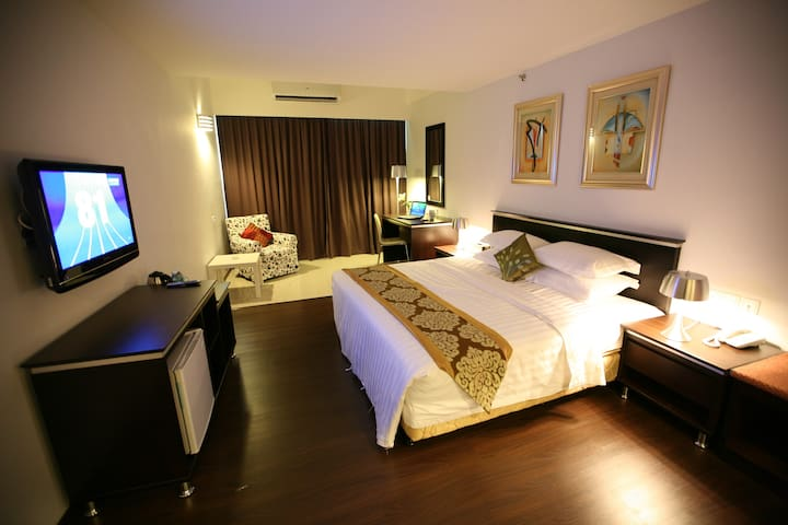 private room with hotel facilities - Ipoh - Bed & Breakfast